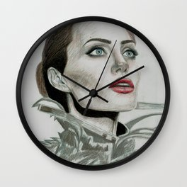 Queen Angie Wall Clock