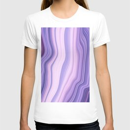 Marble ultra violet T-shirt