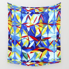Geometric Botanicals 11 Wall Tapestry