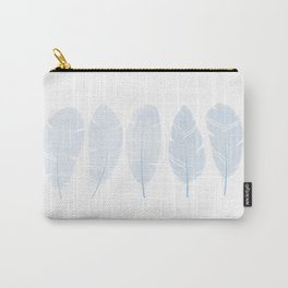 Five feathers blue Carry-All Pouch