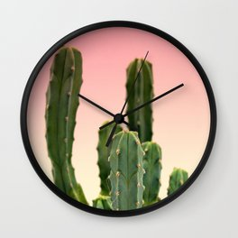 Nature Cactus 2 Wall Clock