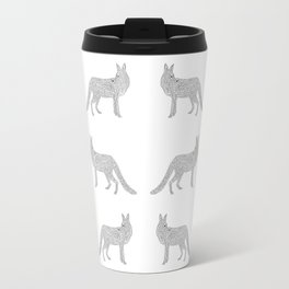 A Minimalist Fox Travel Mug