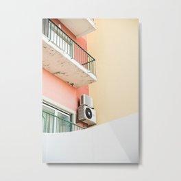 balcony, Cascais Metal Print
