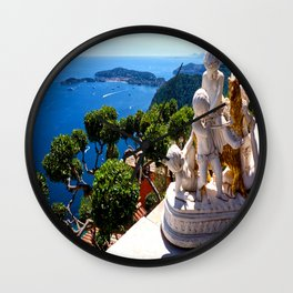Eze Village Cherubs Wall Clock