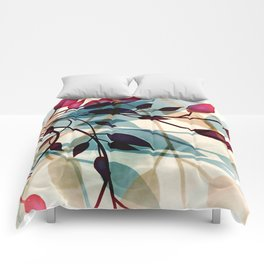 Flood of Leafs Comforters