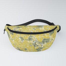 Yellow Mimosa Fanny Pack