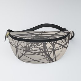 Electrical Pole Upward View Fanny Pack