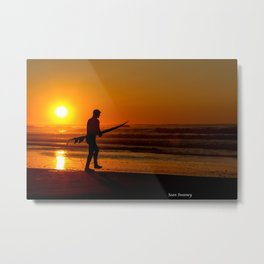 Seize the Morning Metal Print