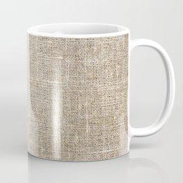 Len Sack Fabric Texture Coffee Mug