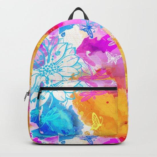 Floral Pattern 11 Backpack