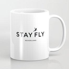 Stay Fly - Neverland Coffee Mug