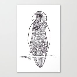 Cotorra Canvas Print