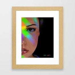 Color Burst  2 Framed Art Print