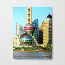 Shanghai Metal Print