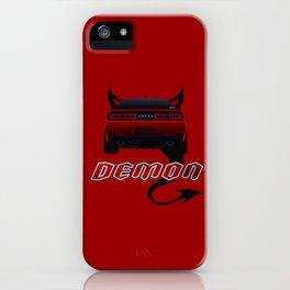 Challeger Demon iPhone Case