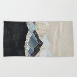 Silent Dusk Beach Towel