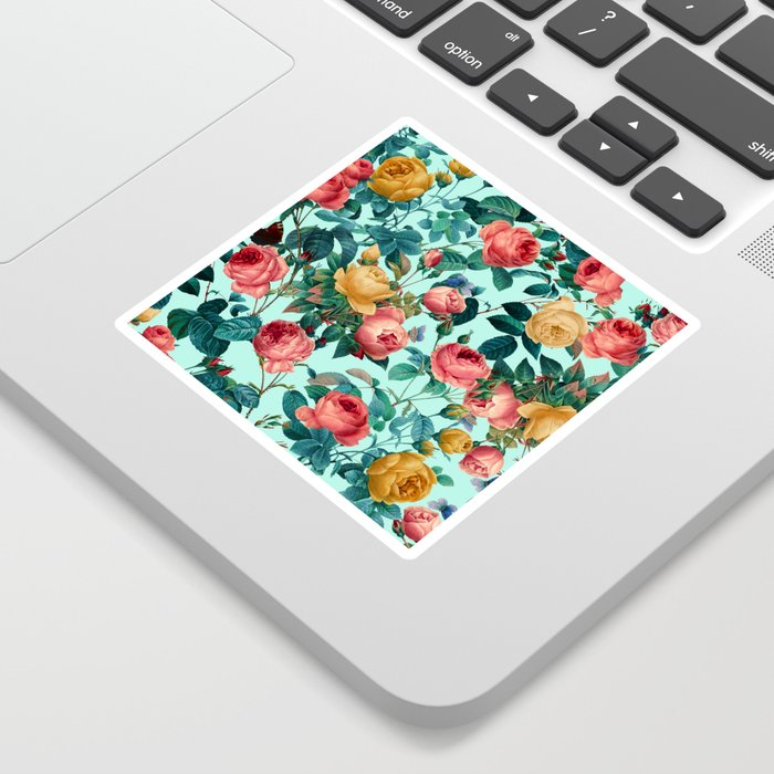 Spring-Summer Botanical Pattern II Sticker