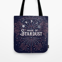 Stardust – Navy & Blush Palette Tote Bag