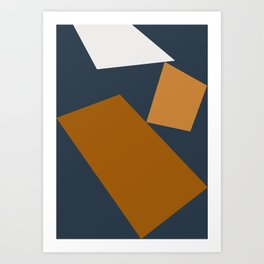 Abstract Geometric 25 Art Print