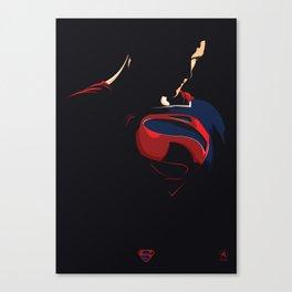 Man of Steel - Superman Canvas Print