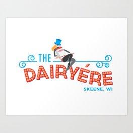 The Dairyére by Brenna Kaplan Art Print