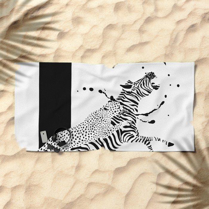 Stars & Stripes Beach Towel