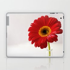 red gerbera Laptop & iPad Skin