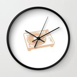 DJ design for Men & Women Wall Clock