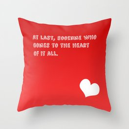 """Sooenme"" Throw Pillow"