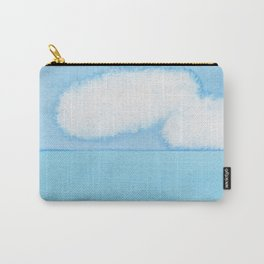 Fuzzy Wuzzy Caterpillar Clouds Carry-All Pouch