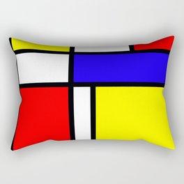 Mondrian 4 #art #mondrian #artprint Rectangular Pillow
