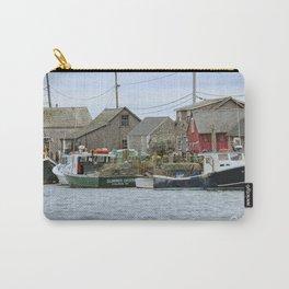 Martha's Vineyard Seaside Village Carry-All Pouch