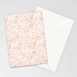 Israeli Leaders: Pattern 3 Stationery Cards
