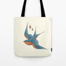 Swallow Flash  Tote Bag