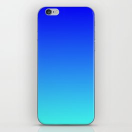 Caribbean Water Gradient iPhone Skin
