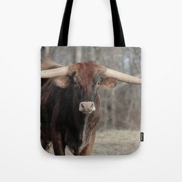Long Horn Fine Art Photography Tote Bag