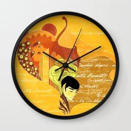 Vulcan Mind Wall Clock
