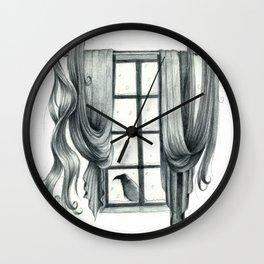 Knocking On My Chamber Door Wall Clock