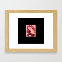 rose blackpink Framed Art Print