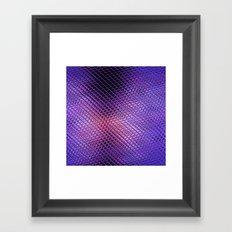 Crystals Reflection Framed Art Print