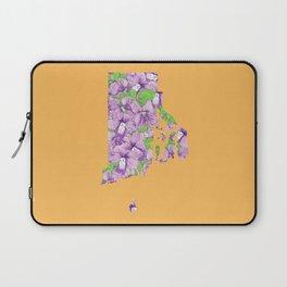 Rhode Island in Flowers Laptop Sleeve