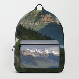 The Mountains of Glacier National Park Backpack