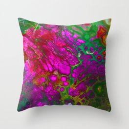 Pink Core Throw Pillow