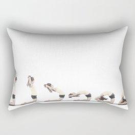 Kapotasana Rectangular Pillow