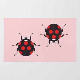 Ladybug Pink Rug