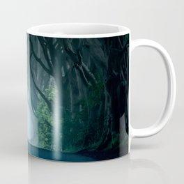 Cold foggy morning in Dark Hedges Coffee Mug