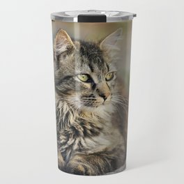 Cat Lying Down Travel Mug