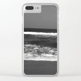 Gray Ocean #society6 #decore # photography Clear iPhone Case