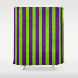 Purple Stripes Shower Curtains