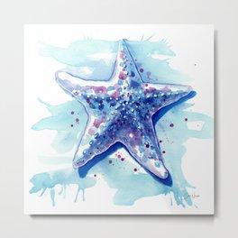 Starfish Waters I Metal Print